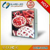 Double face LED Freestanding Cabinet Sreen