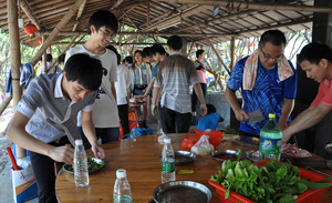 In 2014, Dapeng island for a picnic