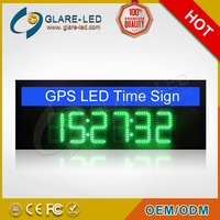 GPS LED Time Sign