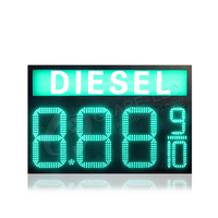 16inch Mixed Led Gas Price Signs with diesel