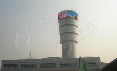 郑州客运站 P12户外全彩插灯显示屏