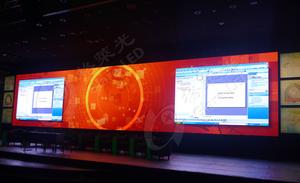 湖南永州交通监控中心 P3室内租赁显示屏