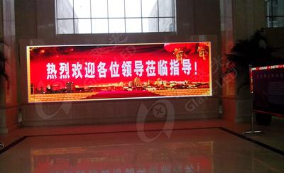 江苏盐城 P5室内表贴全彩显示屏
