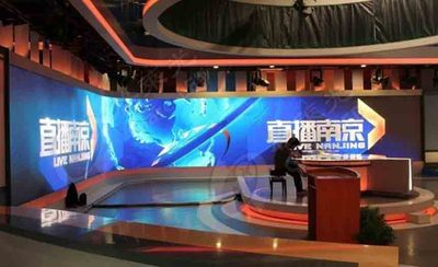 南京广播中心 P3室内表贴全彩