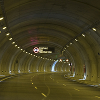 Tunnel Variable Message Sign