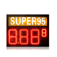 8.889 Mixed LED Gas price sign with heizoel