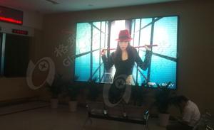 重庆高速路管理中心 P5室内全彩表贴显示屏