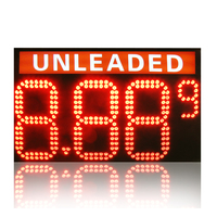 48inch 8.889 Mixed LED Gas Price sign with unleaded